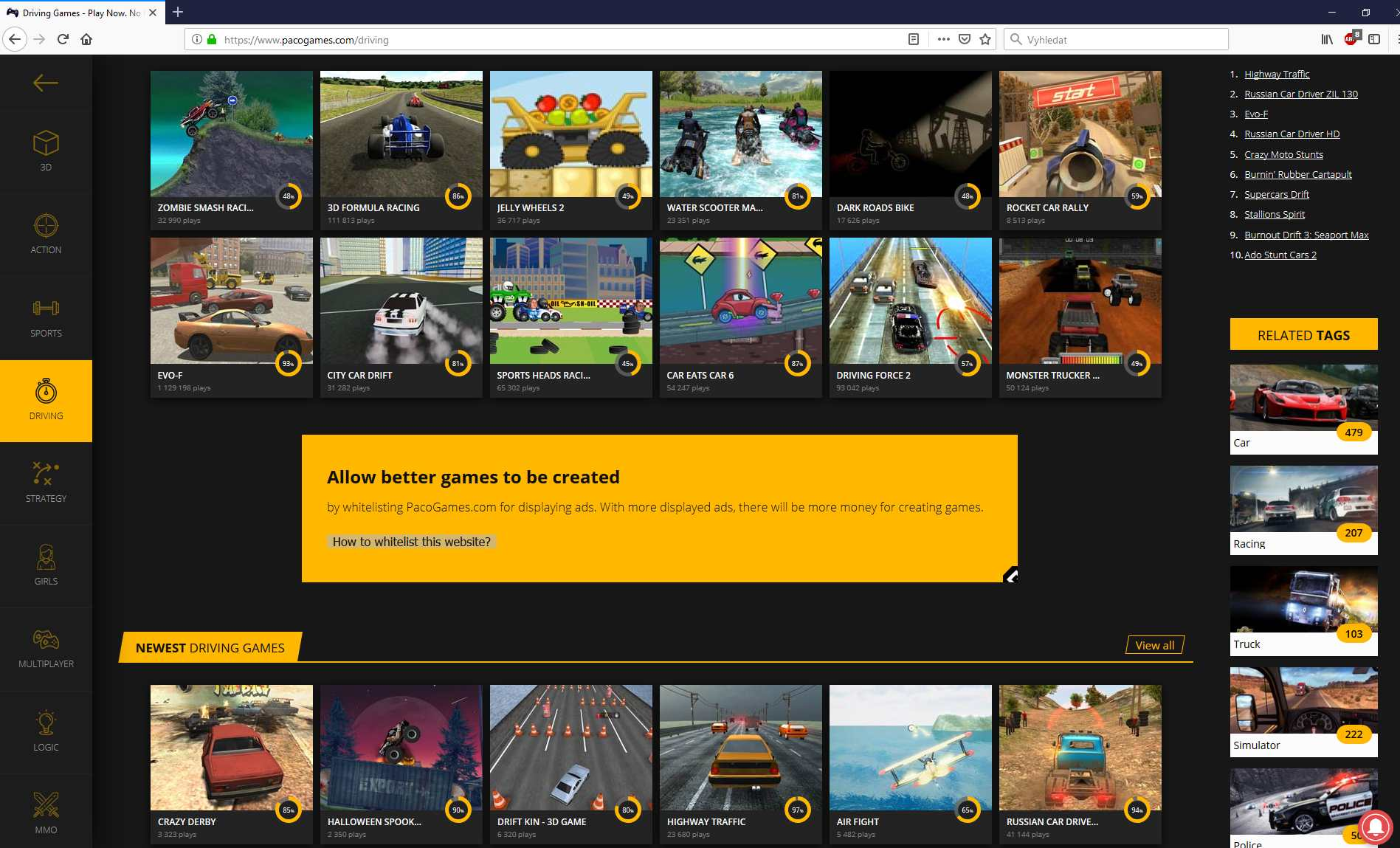 GameArter for Publishers | AdBlocker service